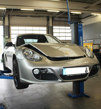 Unfallgutachten für einen Porsche