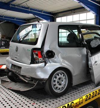 Unfallgutachten bei einem VW Lupo